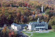 Mount St. Mary's aerial view