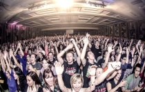 Over six thousand young people packed in the mail ballroom for the SEEK 2013 Conference